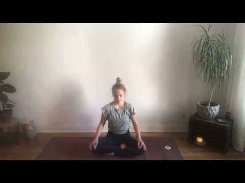 Yogaübung gegen Angst