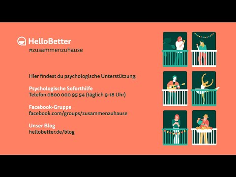 HelloBetter #zusammenzuhause