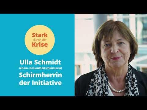 Ulla Schmidt Schirmherrin der Initiative Stark durch die Krise SDDK