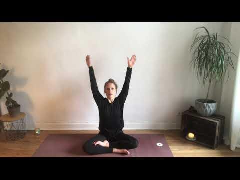 Yogaübung für guten Schlaf