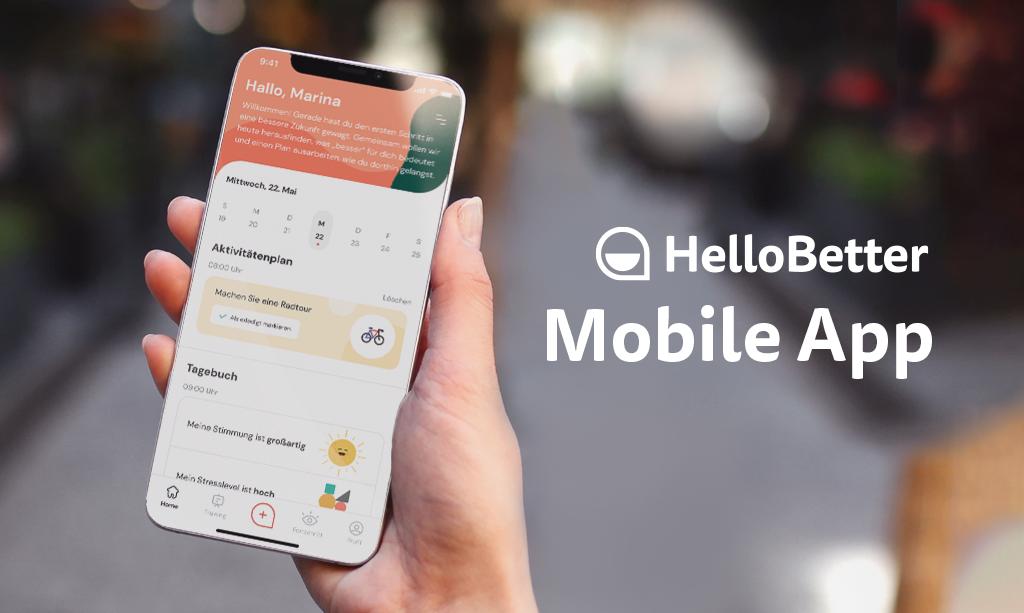 Die Trainingsplattform & unsere neue HelloBetter App