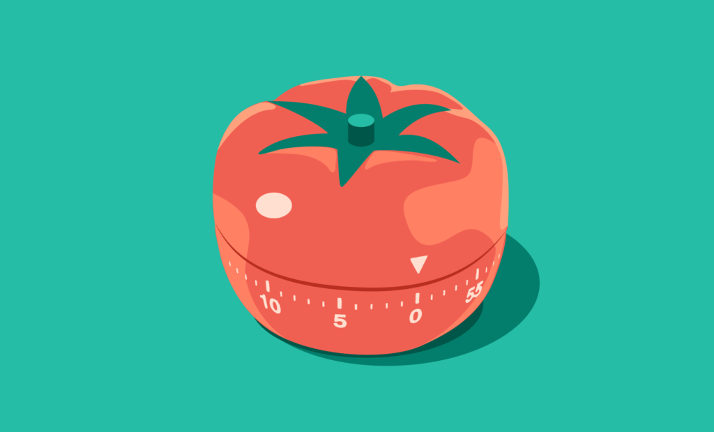 Abbildung: Timer für die Pomodorp Zeitmanagement-Methode