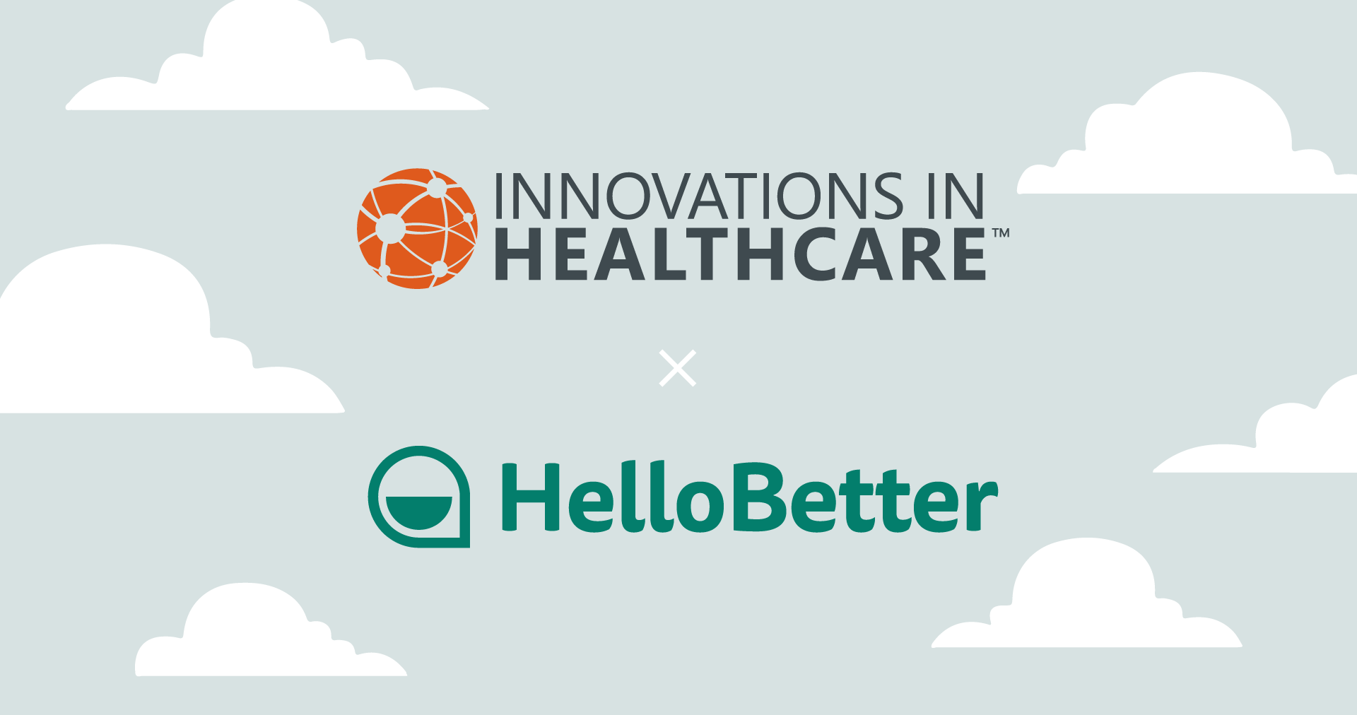 Titelbild: Innovations in Healthcare X HelloBetter Kooperation